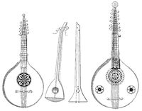 musical instruments, Italian zither chord zither
