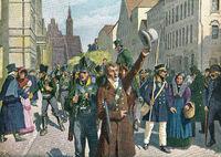 Uprising in Breslau, 1813, Wars of Independence 1813-15