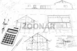 Construction plans and tools