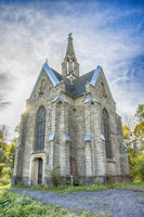 Chapel on the crosshill in Arnsberg, Germany