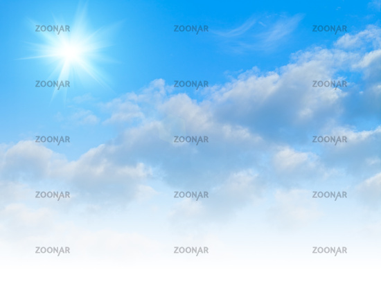 Blue skies, abstract environmental backgrounds for your design