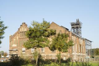 Maschinenhallen der Zeche Radbod in Hamm, Deutschland