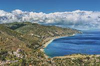 Bucht von Letojanni, Sizilien | Letojanni bay, Sicily