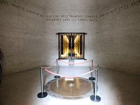 Inside the Deportation Memorial in Paris