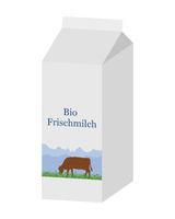 Bio Milchtüte - Bio milk carton