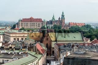 Altstadt von Krakau und Wawel