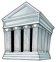 Greek theme image 1 - picture illustration.