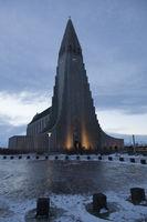 Church of Hallgrímskirkja, Reykjavik