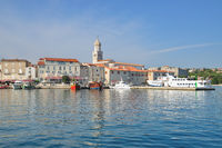 Krk Village,Krk Island,adriatic Sea,Croatia