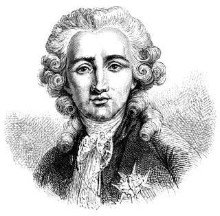 Charles Alexandre, vicomte de Calonne, 1734-1802, a French statesman
