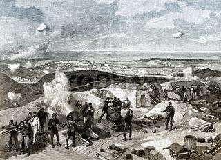 The Siege of Sevastopol, Crimean War, 1853 - 1856