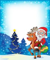 Santa Claus theme image 5 - picture illustration.