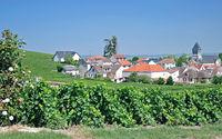 Wine Village of Oger near Epernay,Champagne region