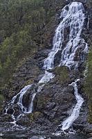 Brattlandsdal waterfall