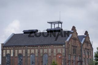 Maschinenhallen der Zeche Radpod in Hamm, Deutschland