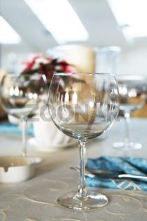 Beautiful glass for wine