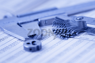 Werkzeuge auf Tabelle