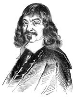 René Descartes, 1596 - 1650, a French philosopher
