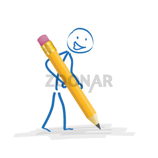 Stickman Pencil