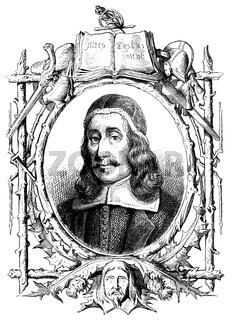 Richard Baxter,  1615-1691, English Puritan church leader