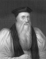 Thomas Cranmer, 1489-1556, Archbishop of Canterbury