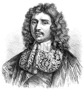 Jean-Baptiste Colbert, 1619 - 1683, a French statesman