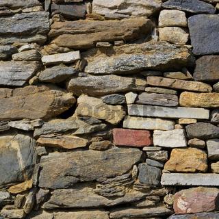 Bruchsteinmauerwerk - quarry 12