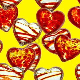 nahtloses Herzmuster