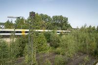 Closed freight area in Dortmund-Huckarde, Germany