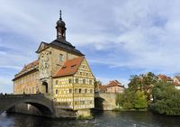 Town hall Bamberg bavaria germany