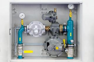 Home gas installation