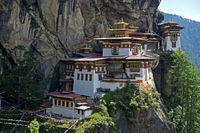 Tiger's Nest Monastery,Paro, Bhutan