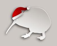 Kiwi mit Weihnachtsmütze - Kiwi with christmas cap