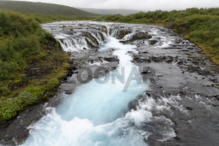 Wasserfall Bruarafoss, Island