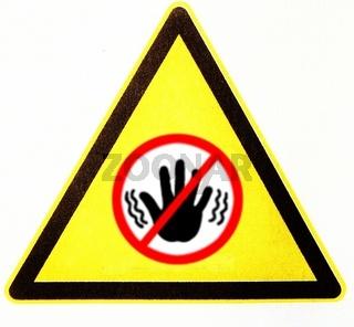 Stop, Halt, symbolisch