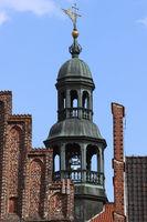 Lüneburg, cityhall, clocktower