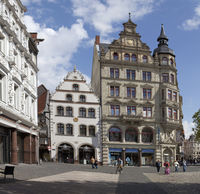 Kohlmarkt square, Brunswick, Germany