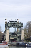 Schleusenpark Waltrop, old ship lift, NRW, Germany