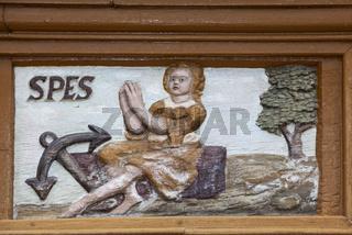 Spes, Alfeld, Old Latin School, Germany