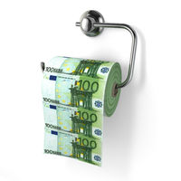 Euro devaluation. Money as toilet paper