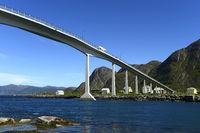 Remoy Bridge,Herøy, Møre og Romsdal county, Norway