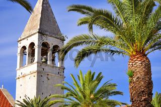 The city of Trogir in Dalmatia
