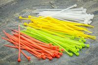 plastic zip cable ties