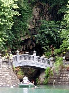 Bridge on Trang An river