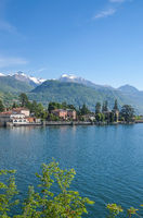 at Lake Como near Tremezzo,Italy