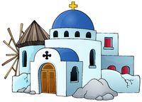 Greek theme image 5 - picture illustration.