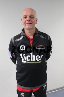 Cheftrainer Kai Wandschneider HSG Wetzlar DKB Handball-Bundesliga 2013-14