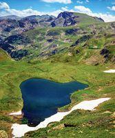 Rila mountain Urdini lakes, Bulgaria