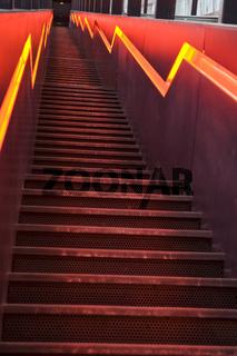 Rolltreppe Zeche Zollverein Essen