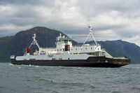 Ferry Finnoy in the Lysefjord, Lauvik, Norway